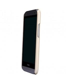 Carcasa protectie spate + folie ecran pentru HTC One Mini 2 - gold